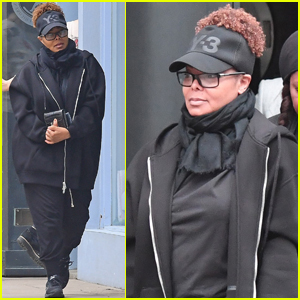 Janet Jackson Does Some Shopping For Newborn Son Eissa!