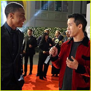 JustJared.com's Jared Eng Guest Stars on 'Famous in Love' as Himself - Watch Now!