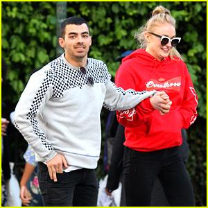 Joe Jonas & Sophie Turner Are Jumping for Joy, Literally