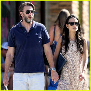 Jordana Brewster & Husband Andrew Form Hold Hands During Rare Public Appearance