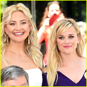 Kate Hudson & Reese Witherspoon Honor Goldie Hawn & Kurt Russell at Walk of Fame!