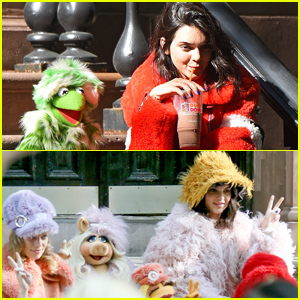 Kendall Jenner Teams Up With Kermit the Frog & Miss Piggy for 'Love' Magazine