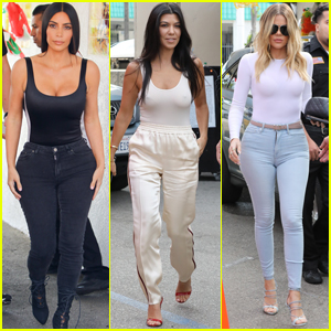Kim, Kourtney & Khloe Kardashian Celebrate Cinco de Mayo in LA!