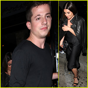 Lea Michele & Charlie Puth Grab Dinner at Craig's
