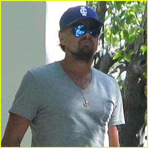 Leonardo DiCaprio Attends Mother's Day Brunch in Malibu
