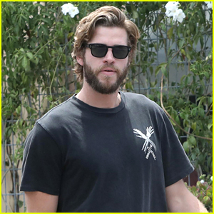Liam Hemsworth Grabs Lunch with a Pal in Malibu