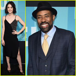 Lucy Hale & Cress Williams Bring New CW Shows to Upfronts
