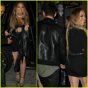Mariah Carey Has Another Night Out With Bryan Tanaka!