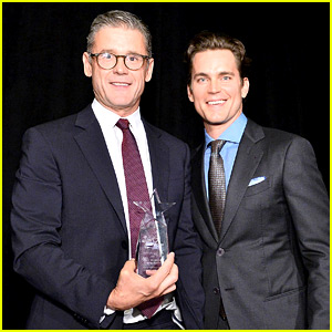 Matt Bomer & Husband Simon Halls Honored at Norma Jean Gala