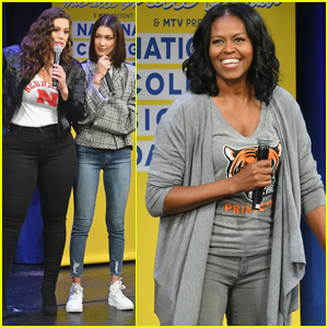 Michelle Obama Celebrates College Signing Day With Bella Hadid & Ashley Graham