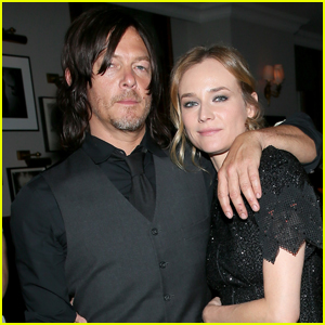 Norman Reedus Shares His Love For Diane Kruger on Instagram!