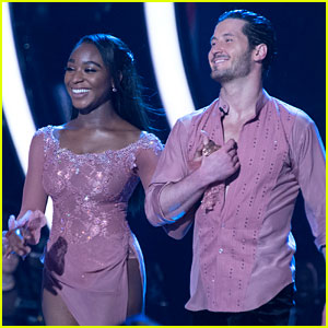 Normani Kordei Gives Update on Twisted Ankle Ahead of 'DWTS' Finale