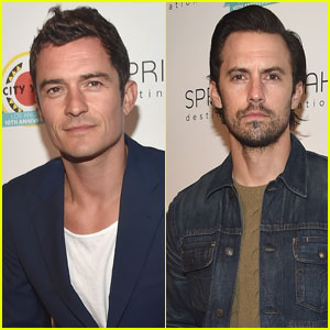 Orlando Bloom & Milo Ventimiglia Attend Star-Studded City Year Los Angeles Benefit