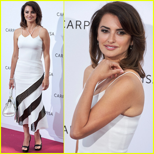 Penelope Cruz Steps Out at 'Carpisa' Event After Spring Collection Launch