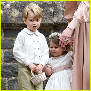 Prince George Was Scolded by Kate Middleton at Pippa's Wedding