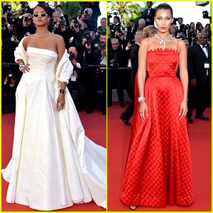 Rihanna & Bella Hadid Are Dior Darlings at 'Okja' Cannes Premiere!