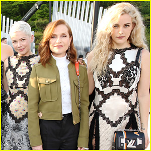 Riley Keough Geeks Out Over Meeting Isabelle Huppert at Louis Vuitton's Japan Show!