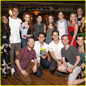 Corey Cott's Brother Casey Visits 'Bandstand' with 'Riverdale' Cast