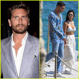 Scott Disick Parties at Cannes Nightclub Sans Bella Thorne