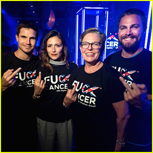 Stephen Amell Hosts First Ever F--k Cancer in London with Cousin Robbie Amell