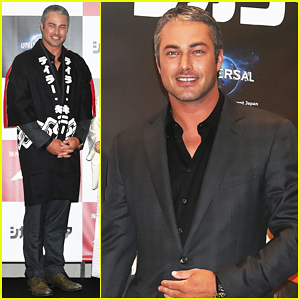 Taylor Kinney Brings 'Chicago Fire' To Tokyo!