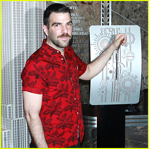 Zachary Quinto Lights the Empire State Building in Honor of NYC's AIDS Walk
