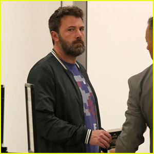 Ben Affleck Catches Flight Out of LA After Attending Kids' School Event With Jennifer Garner
