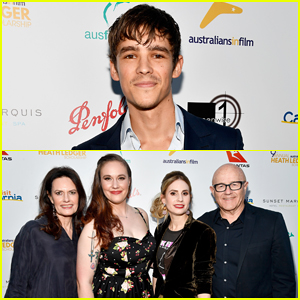 Brenton Thwaites Joins Heath Ledger's Family At Australians In Film Scholarship Dinner 2017!