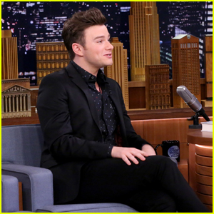 Chris Colfer Says He Was Visited By an Alien as a Child!