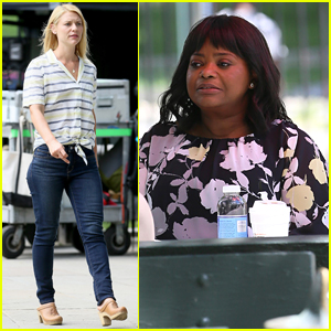 Claire Danes & Octavia Spencer Film 'A Kid Like Jake' in Brooklyn