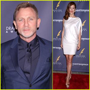 Daniel Craig & Kate Walsh Attend Drama Desk Awards 2017