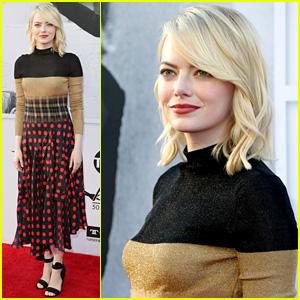 Emma Stone Returns to the Red Carpet After Her Oscar Win!