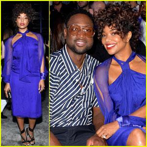 Gabrielle Union & Dwyane Wade Couple Up For 'Lanvin' Paris