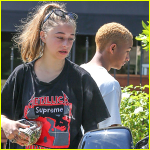 Jaden Smith & Girlfriend Odessa Adlon Go Vintage for Lunch
