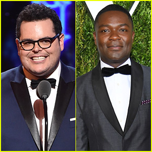 Josh Gad & David Oyelowo Present at Tonys 2017!