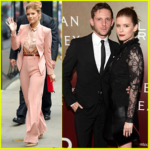 Kate Mara & Jamie Bell Couple Up for 'Megan Leavey' Premiere
