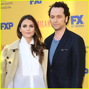 Keri Russell & Matthew Rhys Couple Up to Promote 'The Americans' in LA