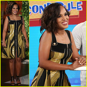 Kerry Washington Reveals the Three Curse Words She Says When She's Injured - Watch Now!