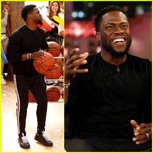 Kevin Hart Gets His Head in the Game on 'Jimmy Kimmel Live!'
