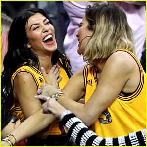 Kourtney & Khloe Kardashian Watch the Cavs Win Game 4!
