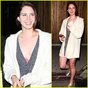 Lana Del Rey Enjoys Girls' Night Out in West Hollywood