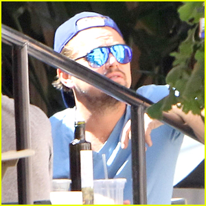Leonardo DiCaprio Grabs Lunch with Friends in Beverly Hills