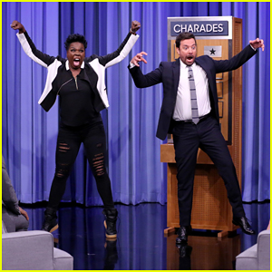 Leslie Jones, Demi Moore & Demetrius Shipp Jr. Play Charades On 'The Tonight Show' - Watch Here!