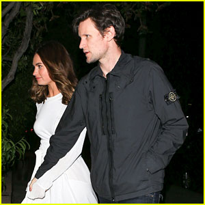 Lily James & Matt Smith Hold Hands for Beverly Hills Date Night