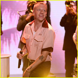 Macklemore Performs 'Glorious' With Skylar Grey on 'Fallon'