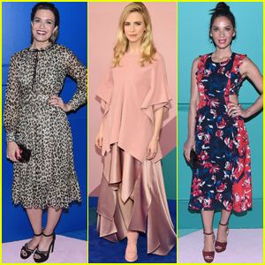 Mandy Moore, Brit Marling & Olivia Munn Get Glam For CFDA!