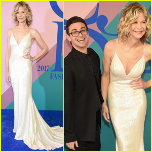 Meg Ryan & Christian Siriano Are a Cute Duo CDFA 2017!