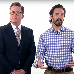 Milo Ventimiglia Flaunts His Arm Muscles & Pays Tribute to Hot TV Dads (Video)