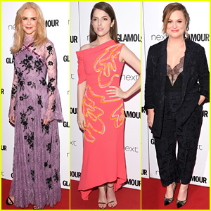 Nicole Kidman, Anna Kendrick, & Amy Poehler Are Winners at Glamour UK's Women of the Year Awards!