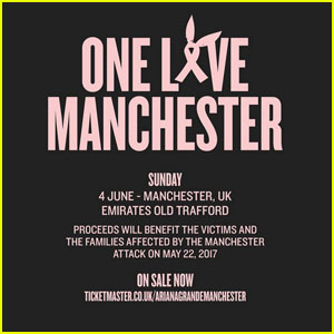 'One Love Manchester' Benefit Concert - Full Set List Here!